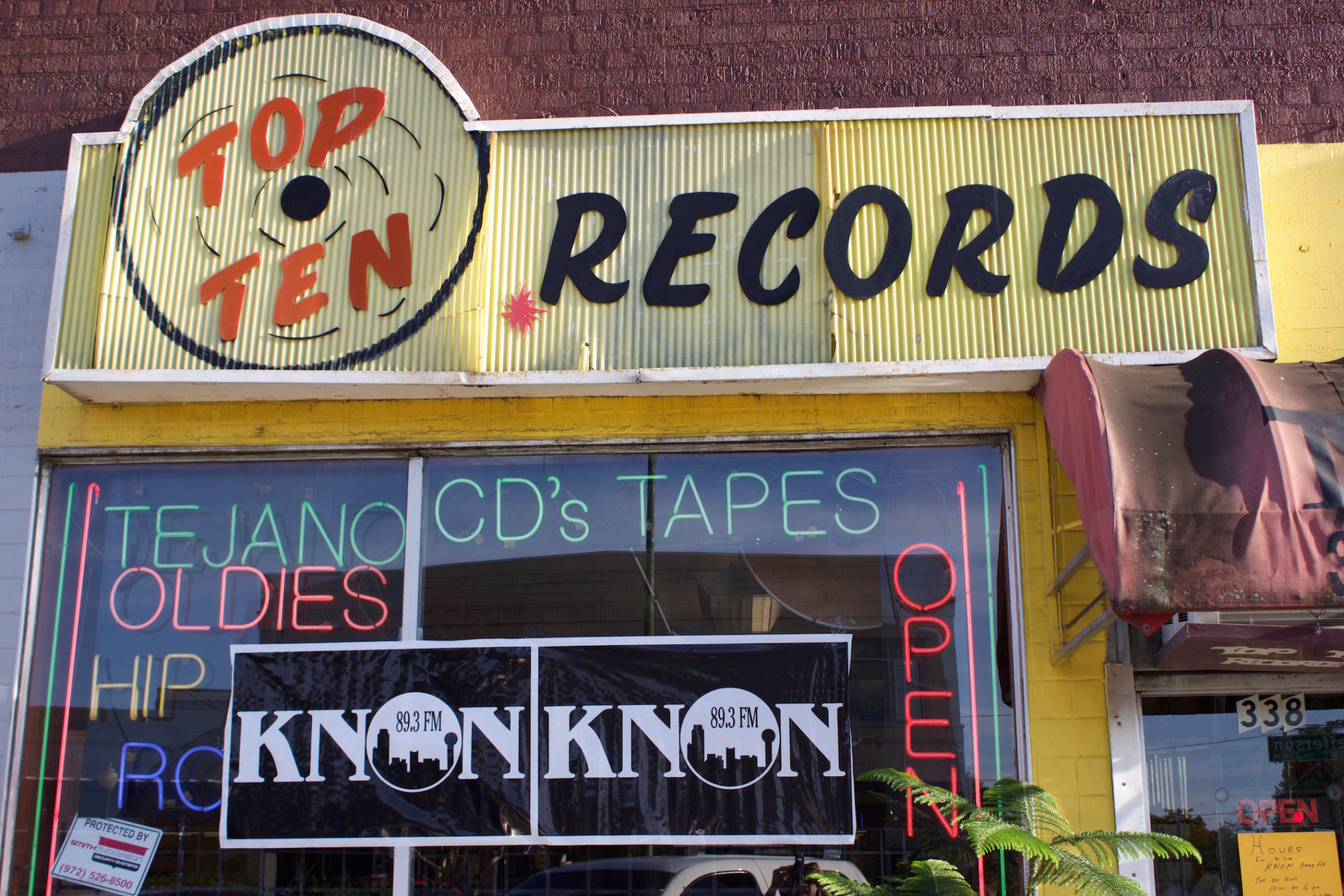 Top Ten Records hopes to become a music library in Dallas