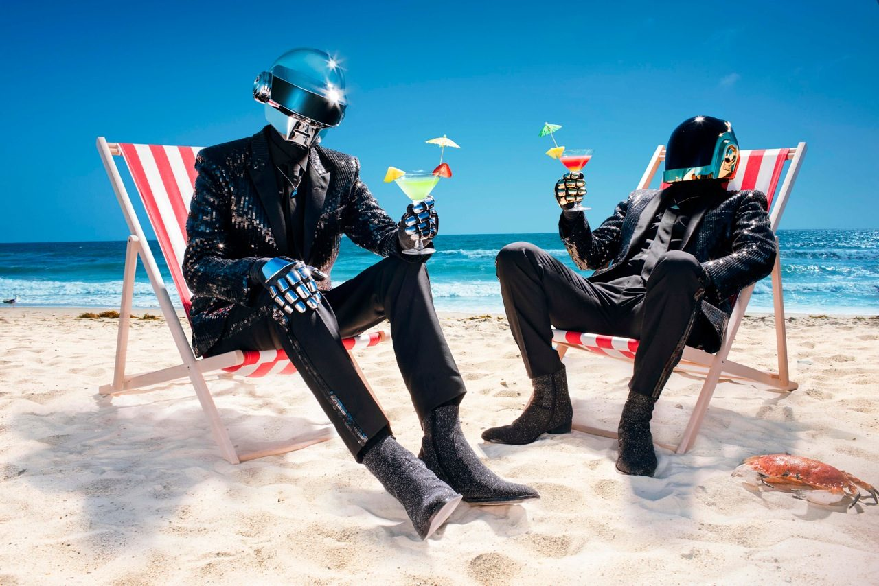 Daft Punk, probably in LA