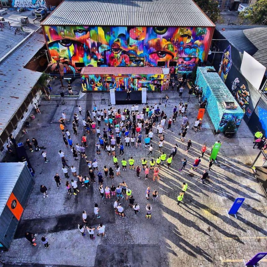 Flying Circus at the Container Yard