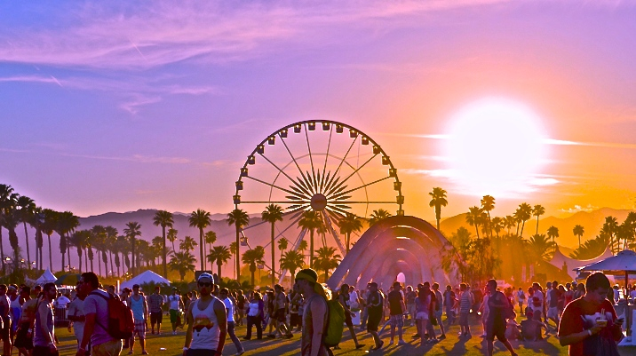 Coachella sunset