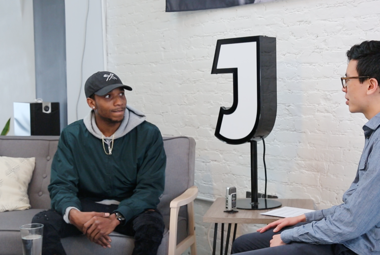 Denzil Porter at Jukely HQ