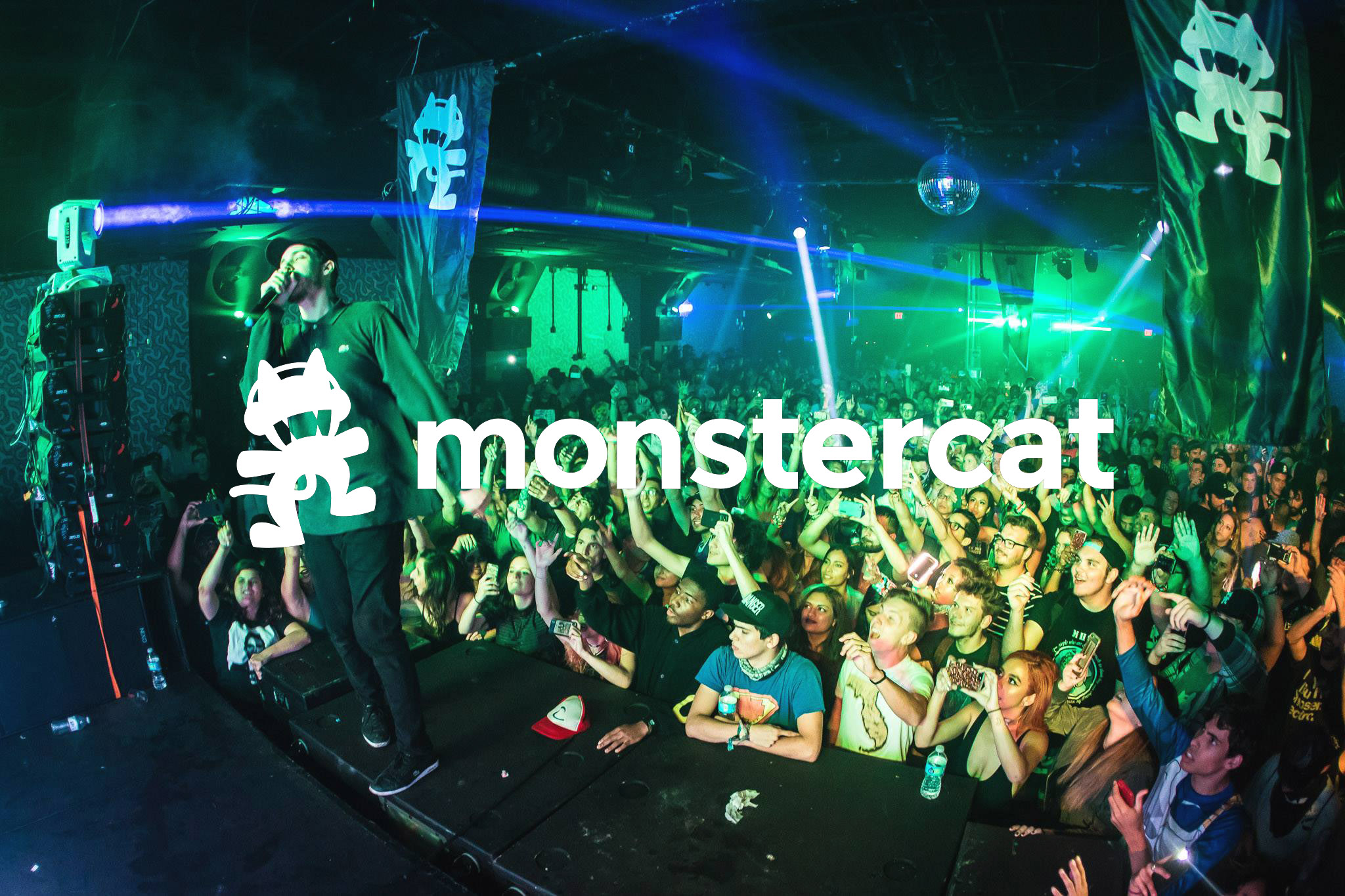 Monstercat Banners Xmas Gift Banners