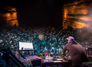 Pretty Lights at Red Rocks Amphitheater