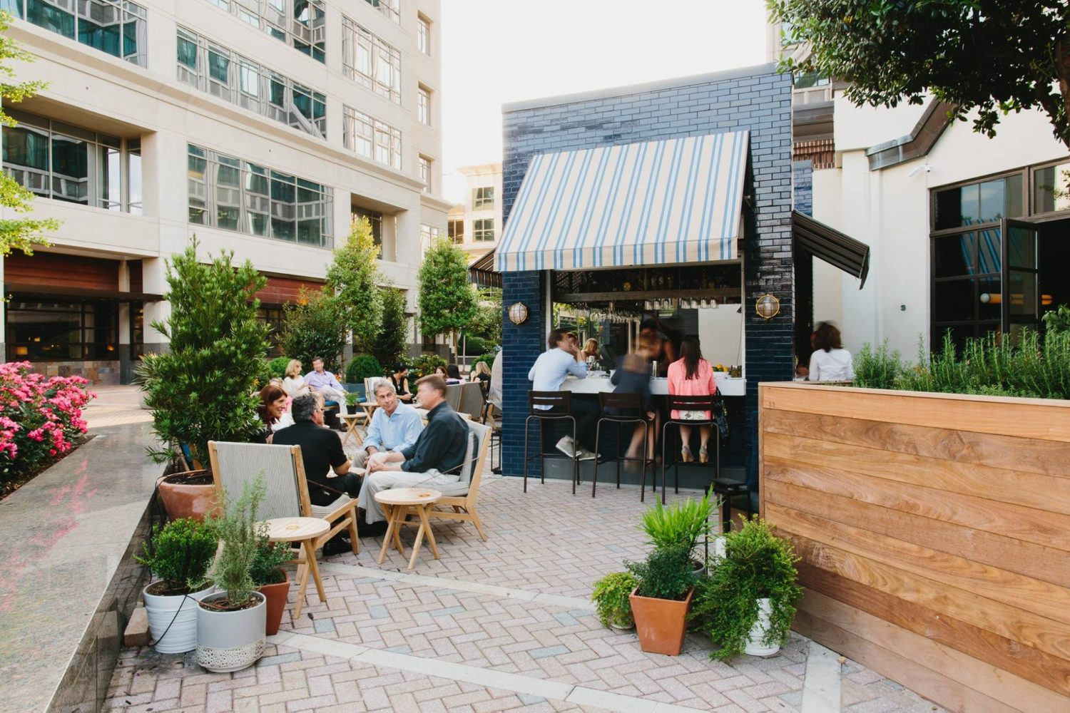 Atlanta's best outdoor bars for weekend cocktails or after ... on Best Backyard Bars id=65169