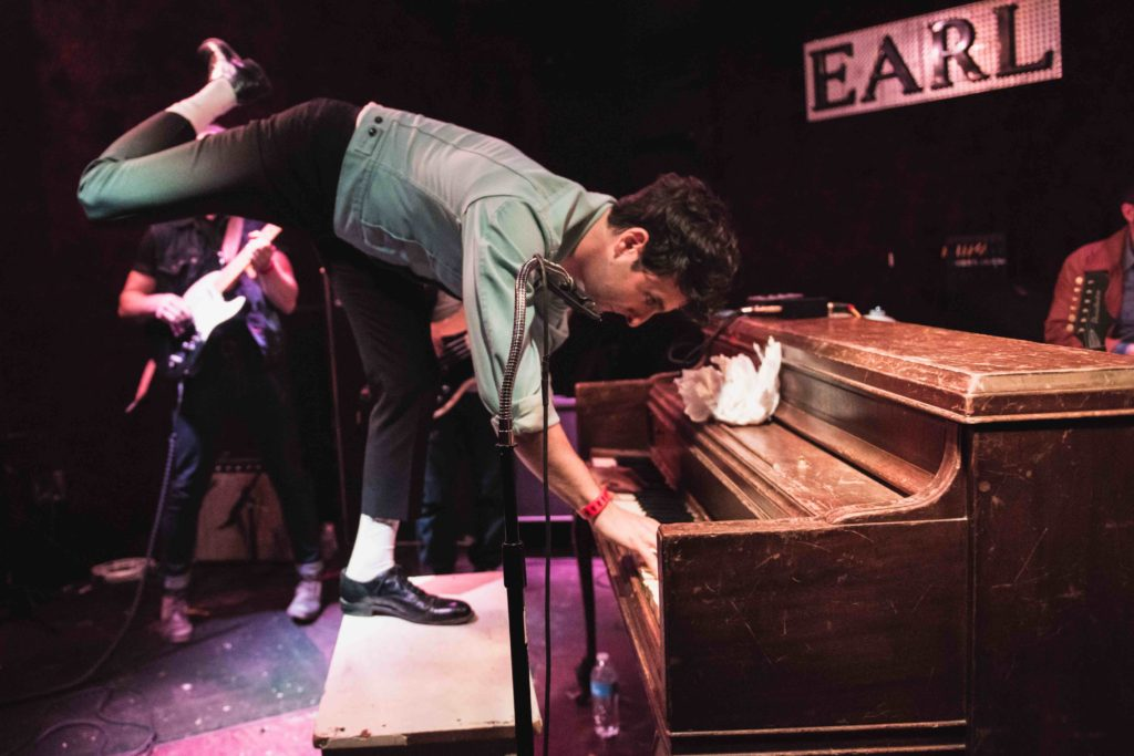 Low Cut Connie performing live at the EARL in Atlanta