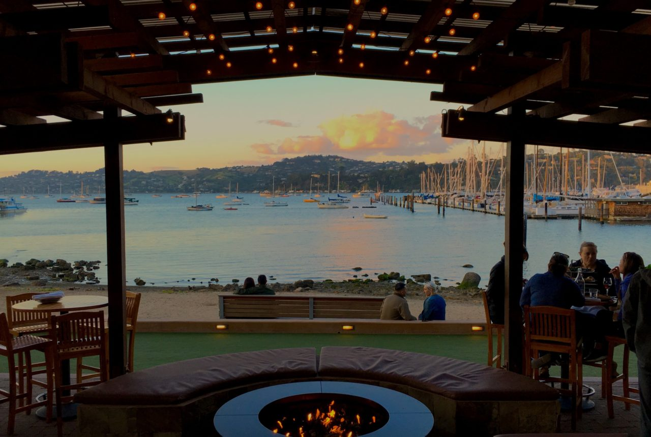 outdoor bars in the Bay Area
