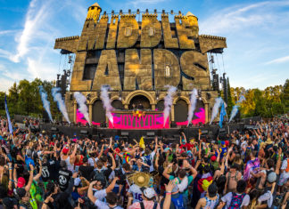 main stage at Middlelands