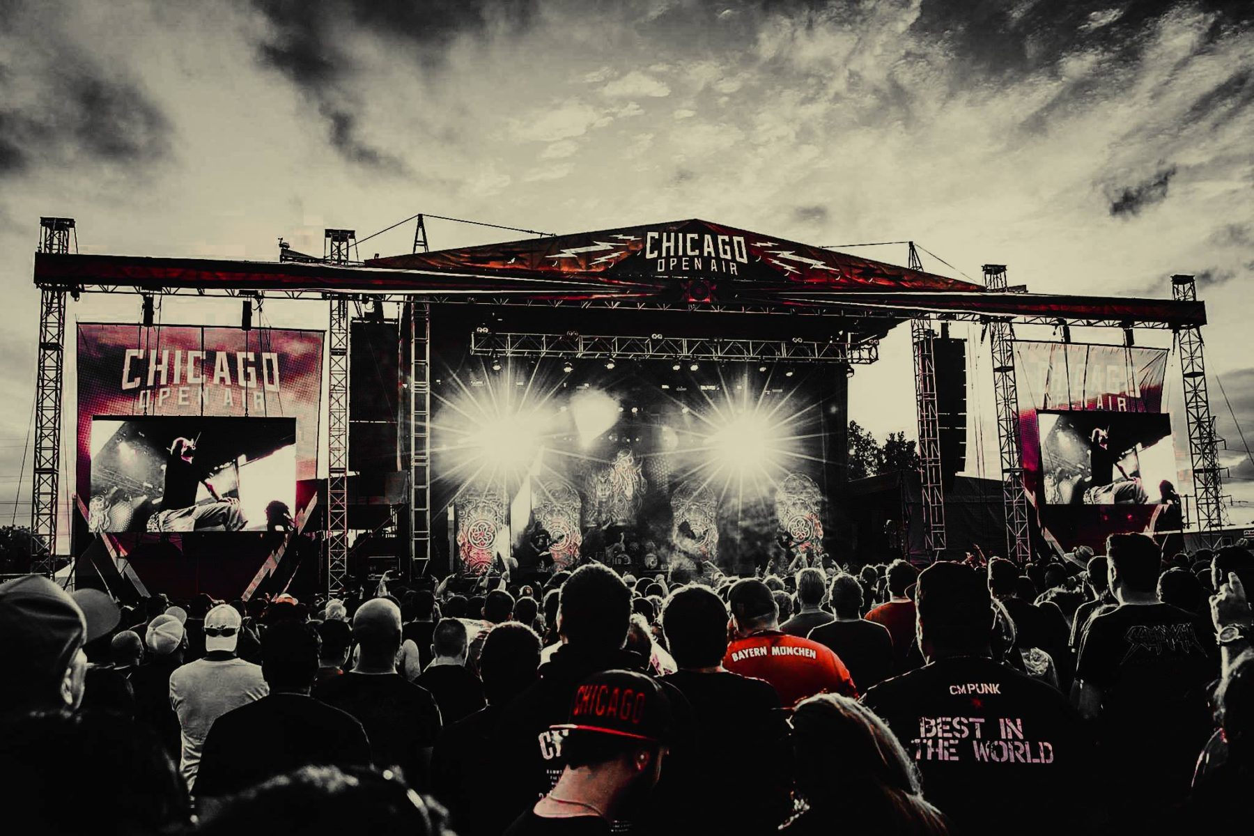 chicago open air is back for its second year of rock metal and