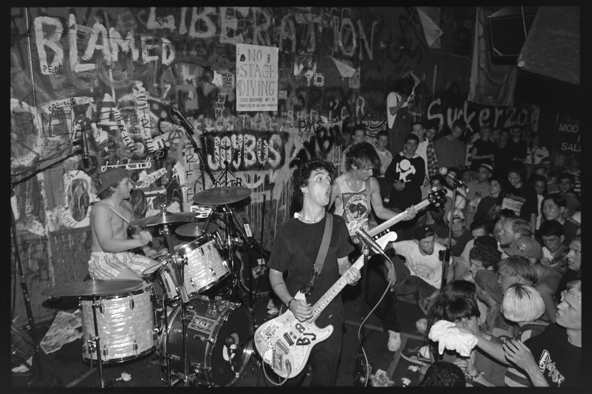 this documentary shows how the punk community found a home in the east bay. Black Bedroom Furniture Sets. Home Design Ideas
