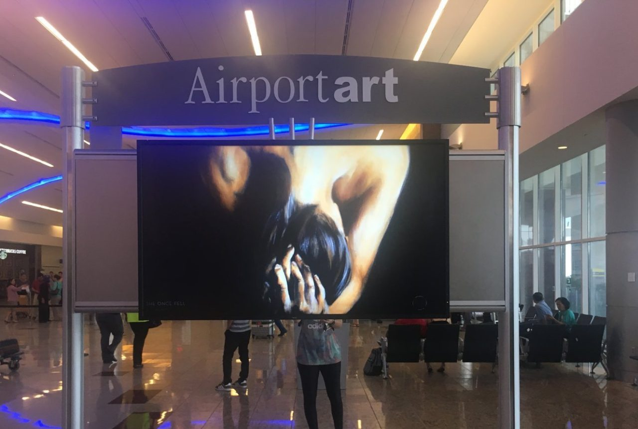 art streaming app at Hartsfield-Jackson International Airport