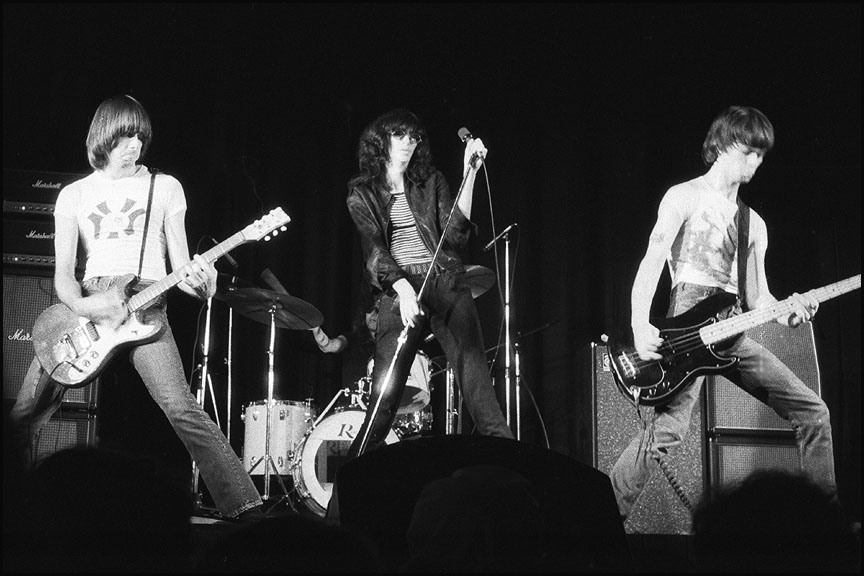 Ramones, including Richie Ramone