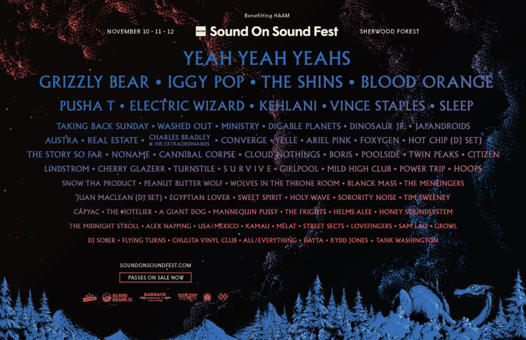 Sound on Sound lineup poster