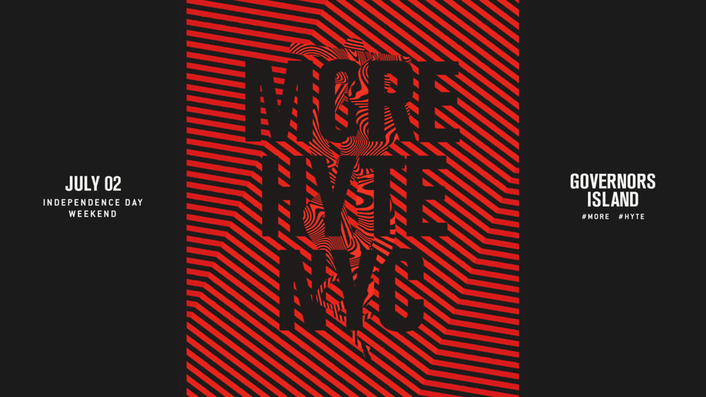 HYTE NYC poster