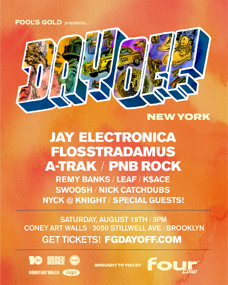 Fool's Gold Day Off New York poster