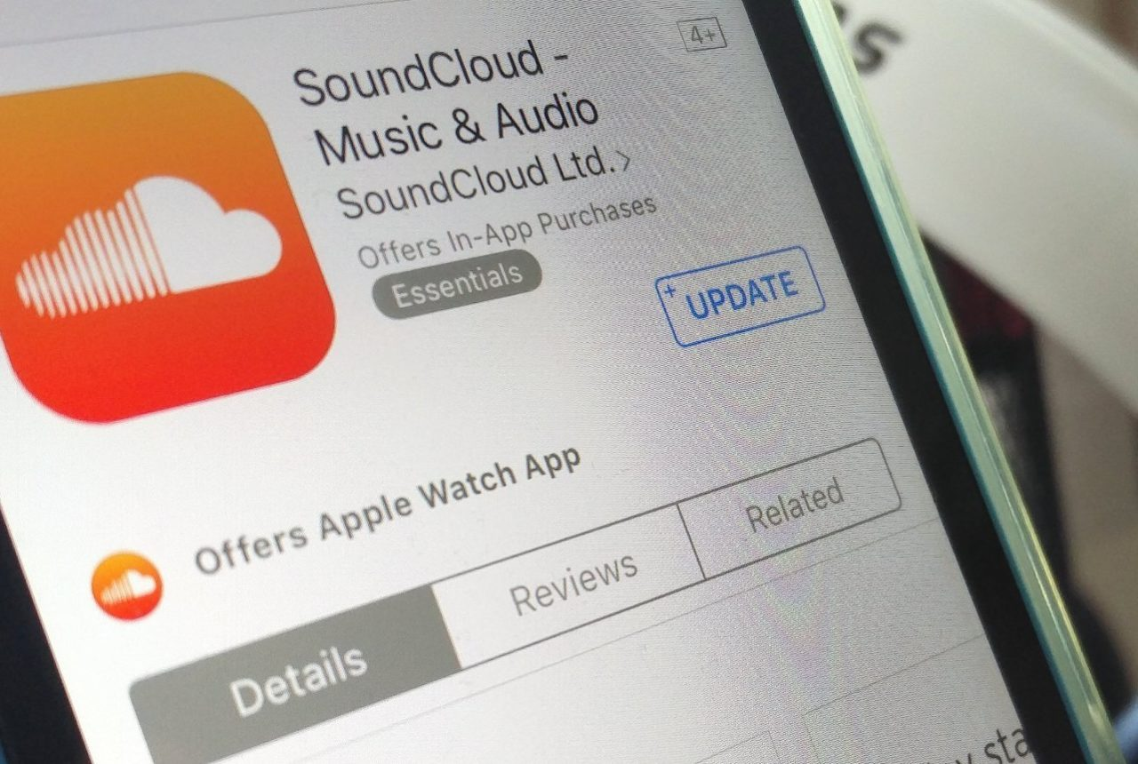 SoundCloud app