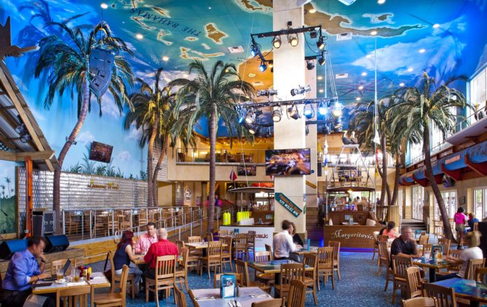 a photo that they legitimately think helps sell Margaritaville Atlanta