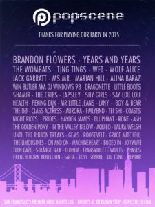 The 2015 lineup