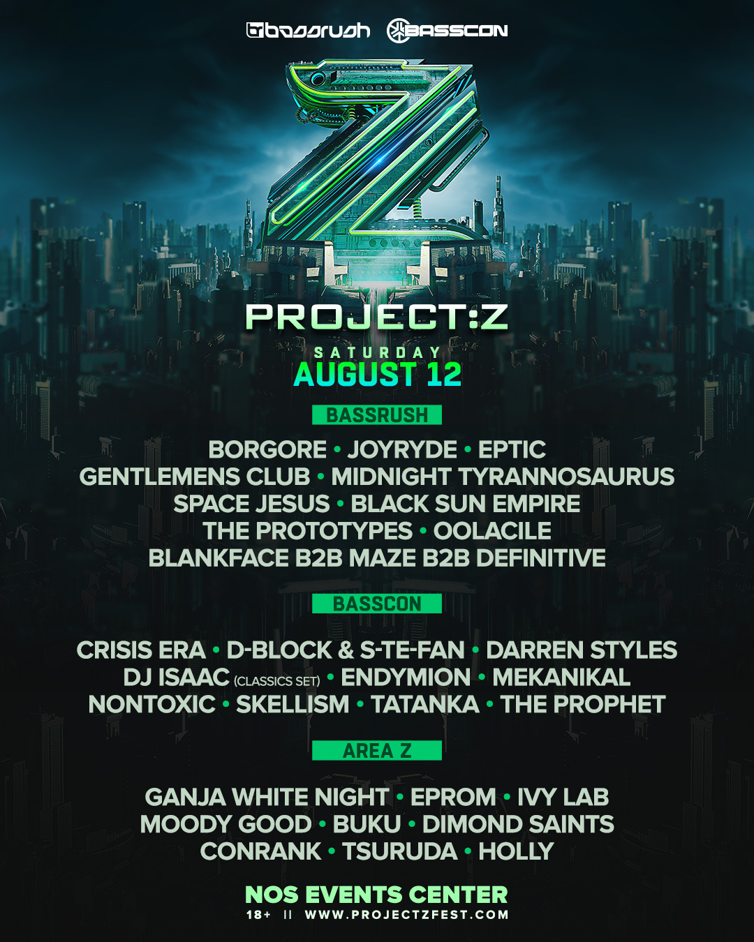 Insomniac's Project:Z flyer
