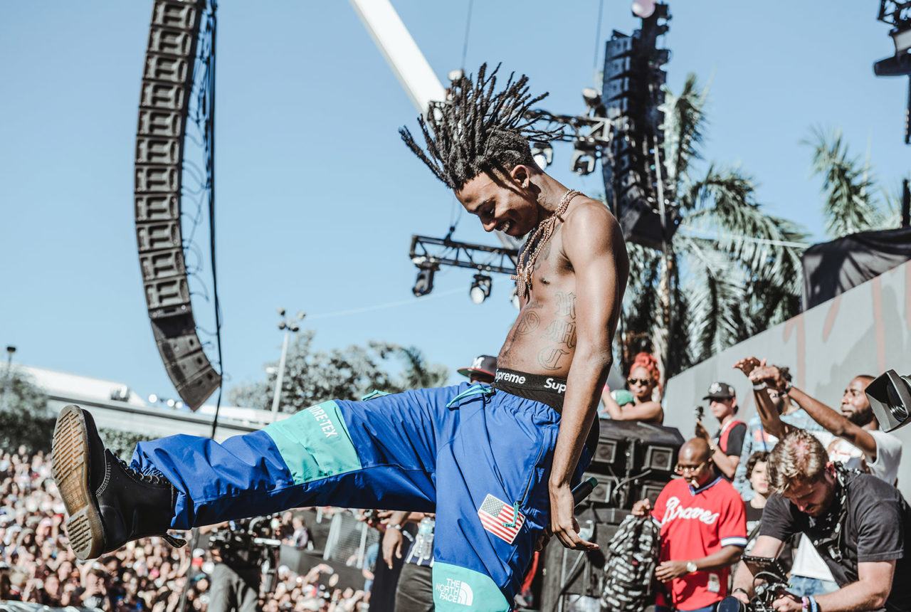 Playboi Carti at Rolling Loud Miami 2017