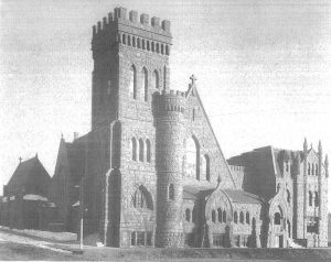 Old photo of The Church exterior