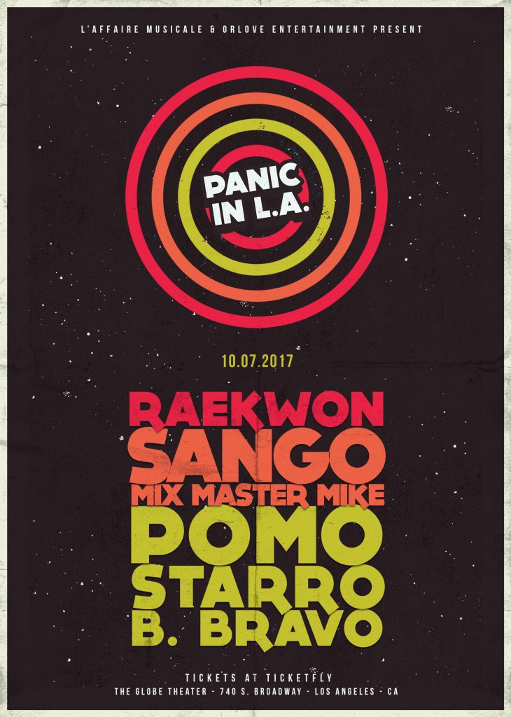 Panic in L.A.! flyer