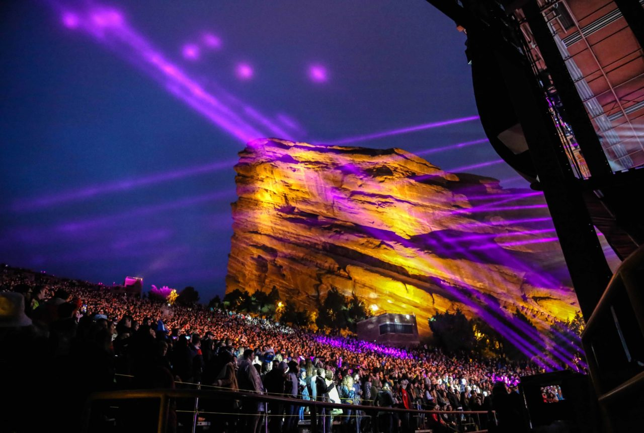 Red Rocks, a Denver concert venue and park