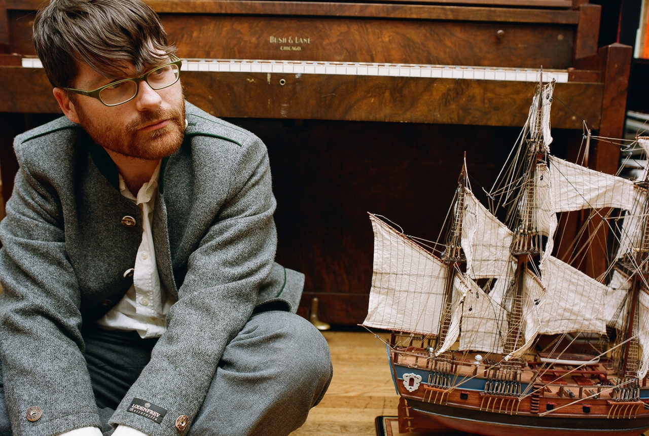 Colin Meloy of The Decemberists, headliner at Stackstock Music Fest