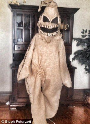 oogie boogie Halloween rave outfit