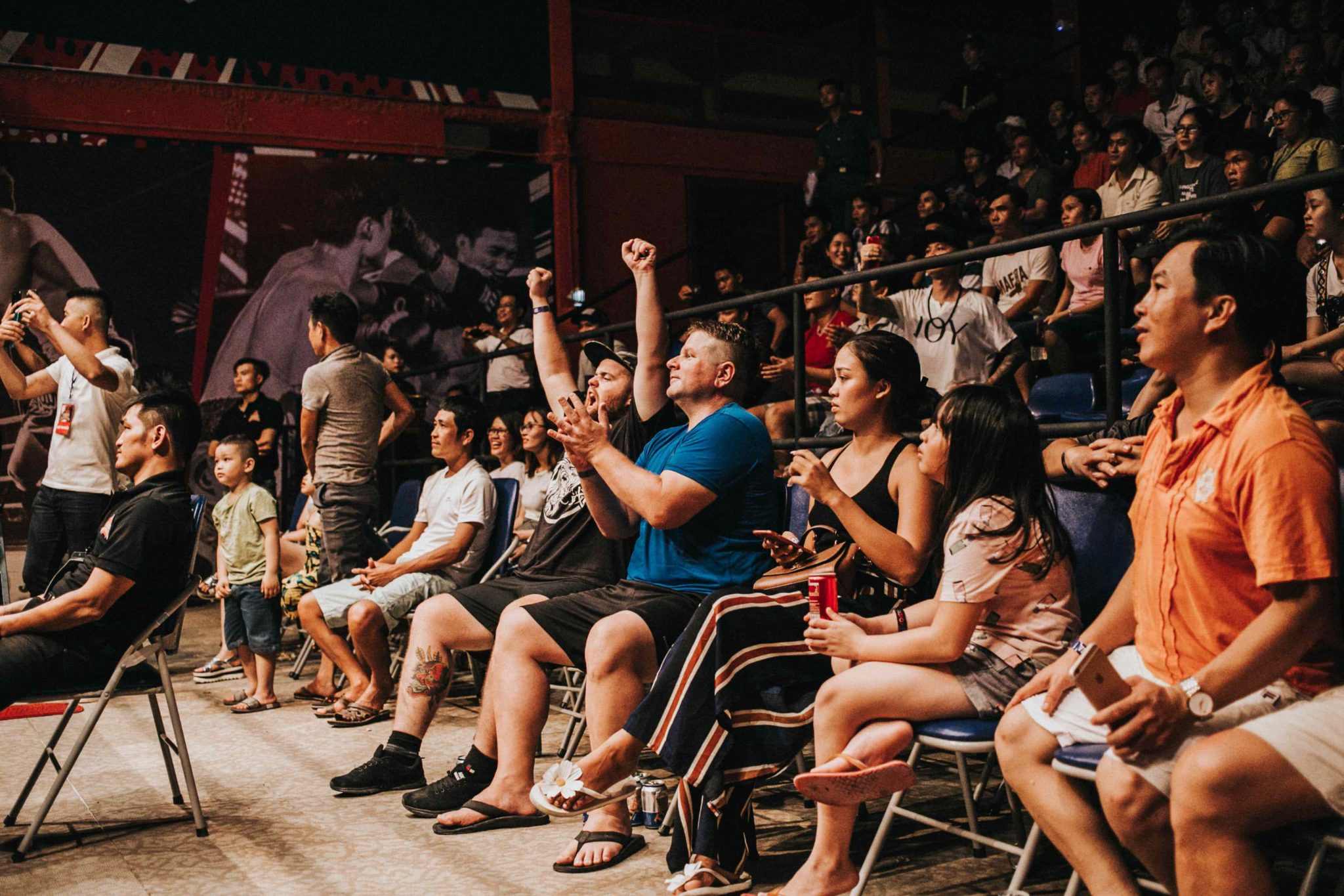Standing vs  sitting at a concert: What to do?