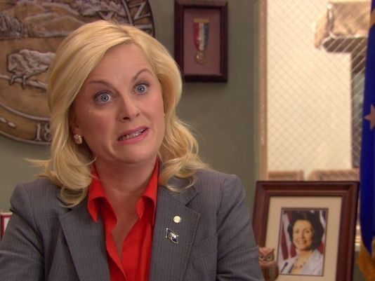 hangover parks and recreation leslie knope