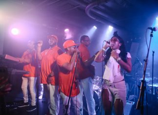 Rare Essence at U Street Music Hall. Photo by MWV.
