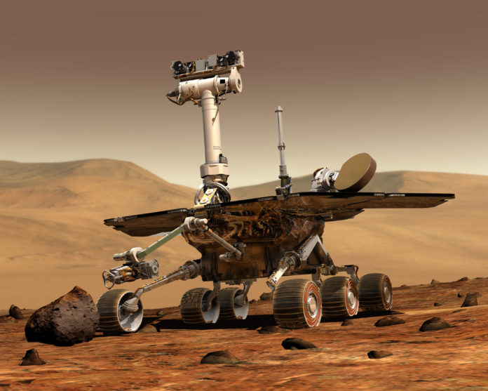 NASA Opportunity Mars Rover data sonification