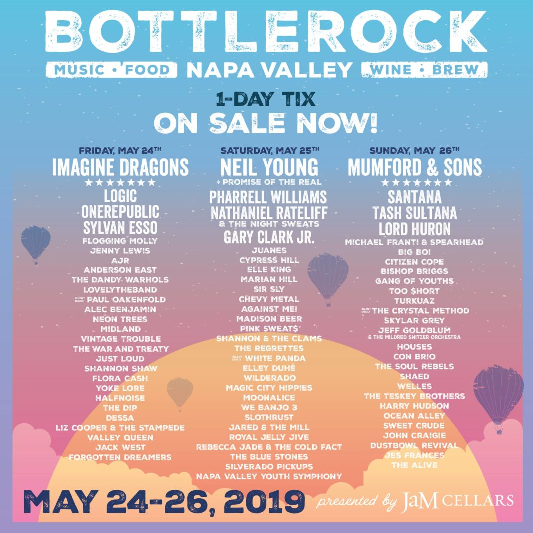 BottleRock Napa Valley's stacked lineup will be hard to beat